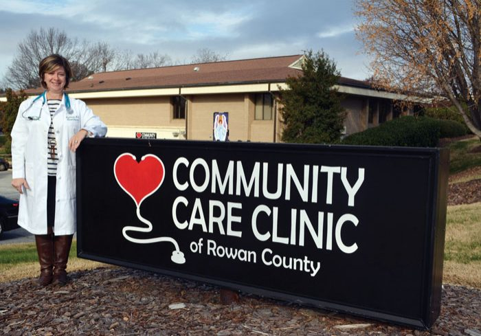 Dr. Amy Wilson begins work Jan. 9 as the new medical director of Community Care Clinic. Susan Shinn Turner/For the Salisbury Post